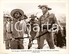 1940 DIAMOND FRONTIER Movie by Harold D. SCHUSTER Chain gang *Foto 25x20 cm