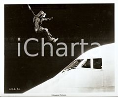 1974 AIRPORT 1975 Movie by Jack SMIGHT Pilotless COLUMBIA AIRLINES 747 *Foto
