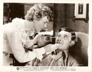 1937 GOD'S COUNTRY AND THE WOMAN Beverly ROBERTS George BRENT *Foto di scena