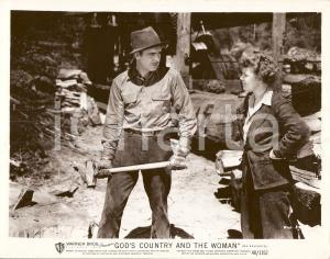 1937 GOD'S COUNTRY AND THE WOMAN George BRENT Beverly ROBERTS *Foto di scena