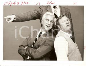 1982 POLICE SQUAD! Leslie NIELSEN Alan NORTH  - Comedy aired on ABC *Photo 23x17