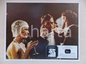 1974 GREAT GATSBY Mia FARROW Robert REDFORD at party *Lobby card MEXICAN EDITION