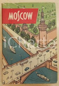 1960 A. KOVALYOV Moscow - A short guide *ILLUSTRATED 180 pp.