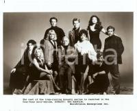 1991 DYNASTY: THE REUNION The full cast of the miniseries *Photo 25x20 cm