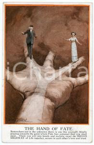 1912 Artist Dudley TENNANT - The hand of Fate - Old postcard